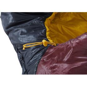 Nordisk Oscar -2° Curve Sac de couchage L, rio red/mustard yellow/black